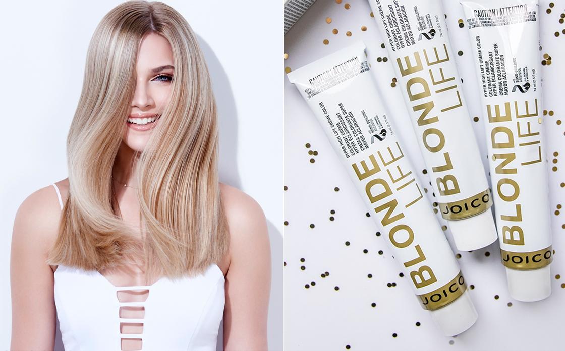 4 BLONDE LIFE - barvící systém pro blond