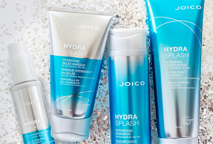 HYDRASPLASH - řada pro hydrataci jemných vlasů
